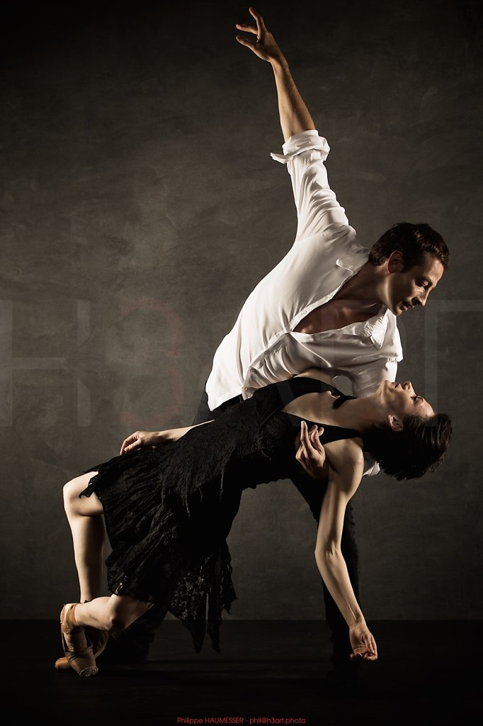 Christelle DAUJEAN, soliste Ballet de l'Opéra National du Rhin <br> Jean-Sébastien COLAU, guest principal dancer
