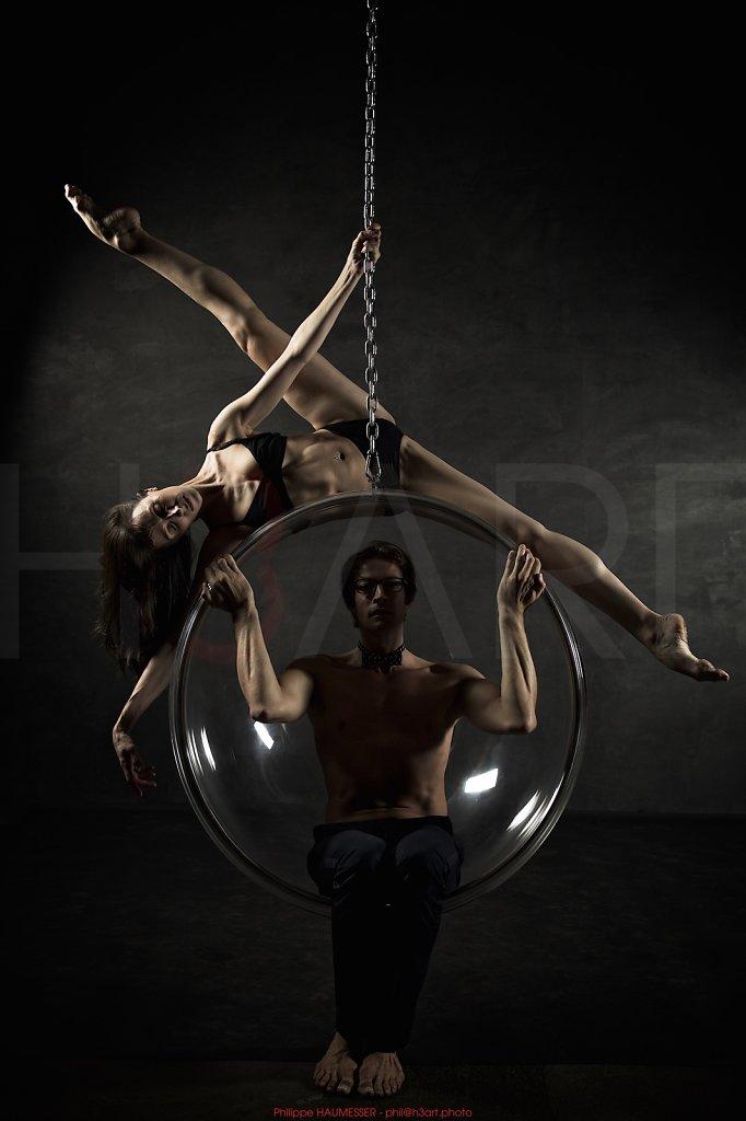 Itziar MENDIZABAL, first soloist Royal Ballet, London <br> Jean-Sébastien COLAU, guest principal dancer