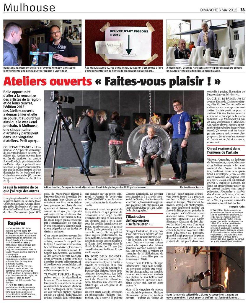 Pleine page L'Alsace