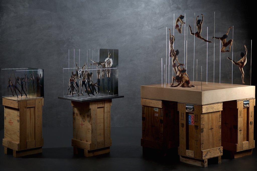 Tesseract : 3 hyperportraits de danseur